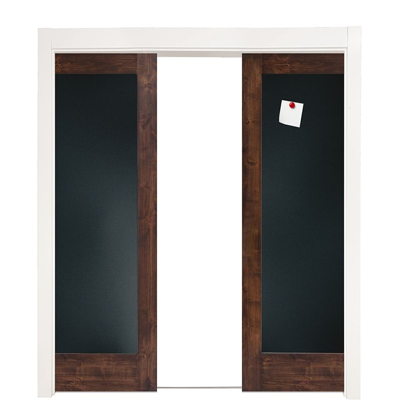 Smooth Operator Double Converging Pocket Doors