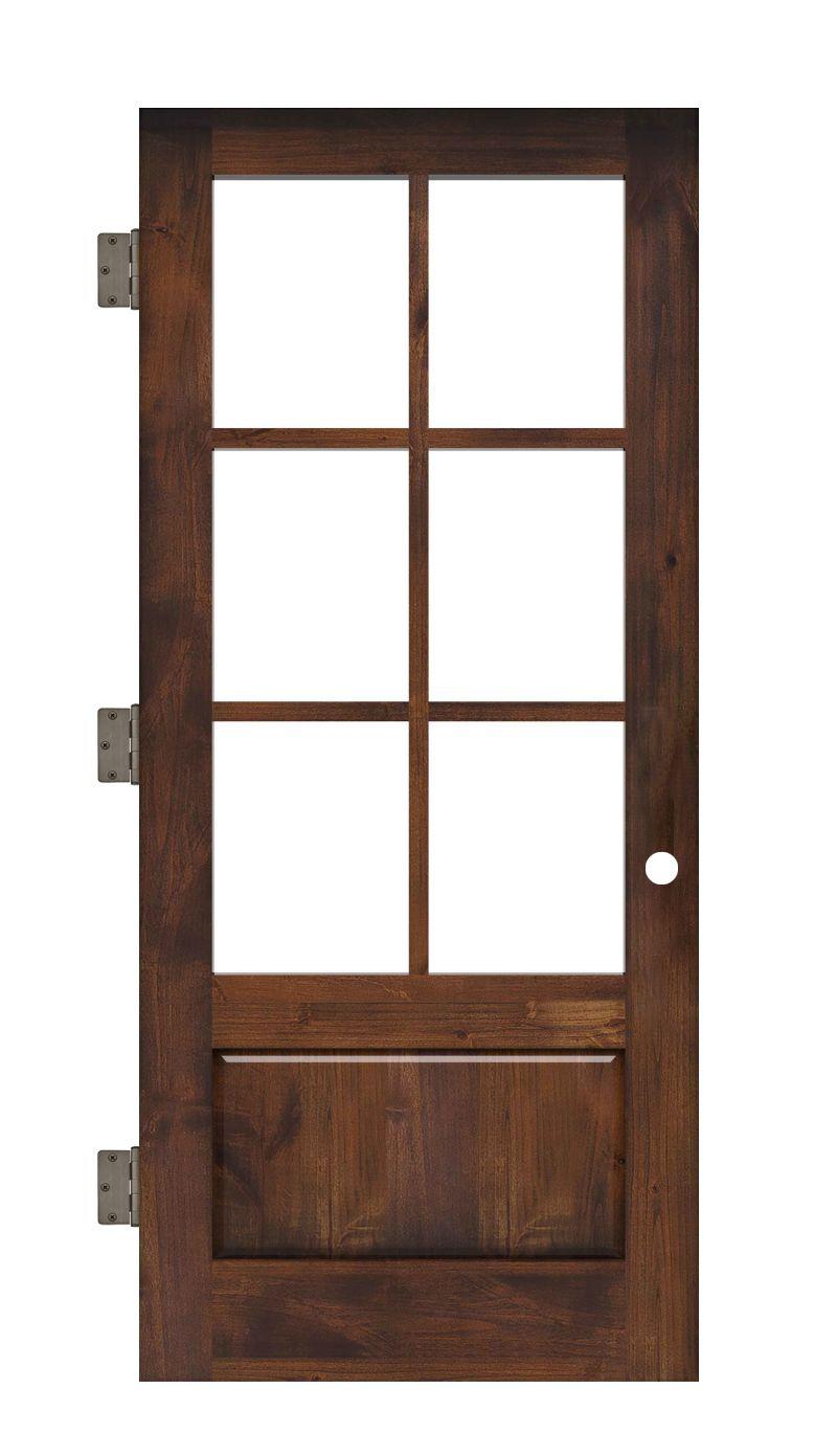 Boat House Interior Slab Door