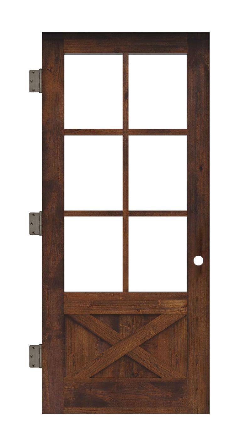 Cross Saw Interior Slab Door