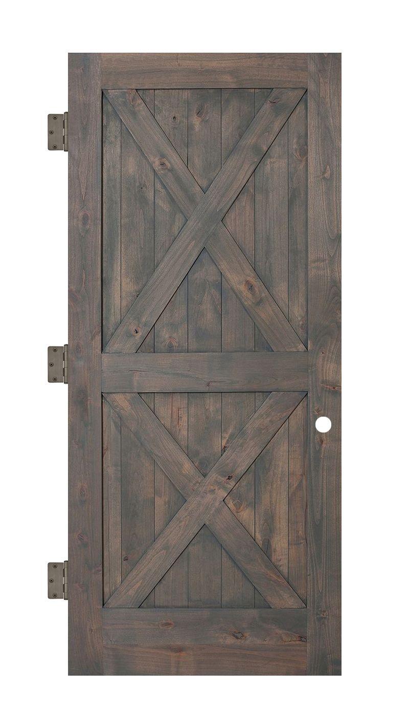 Double X Interior Slab Door