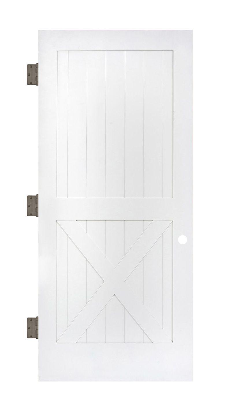 Half X Interior Slab Door