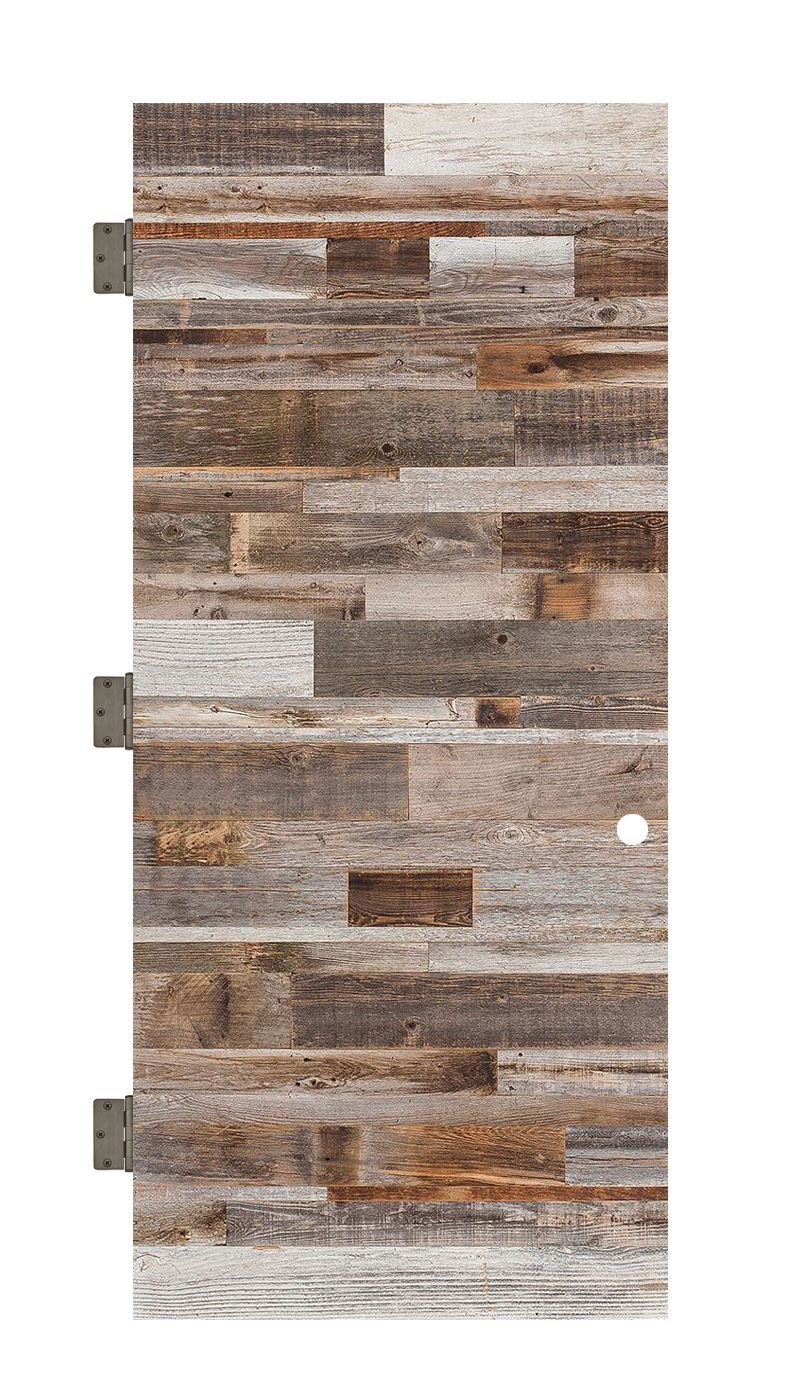 Horizontal Barn Wood Interior Slab Door
