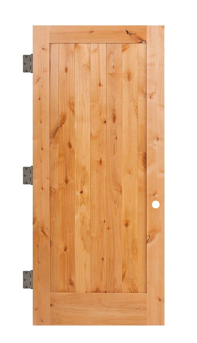 Vertical Lewiston Interior Slab Door
