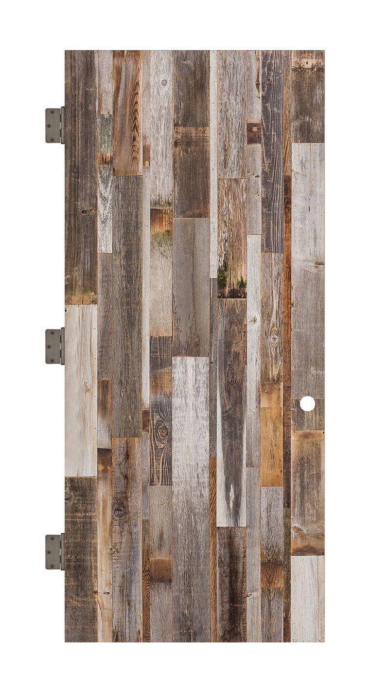 Vertical Barn Wood Interior Slab Door