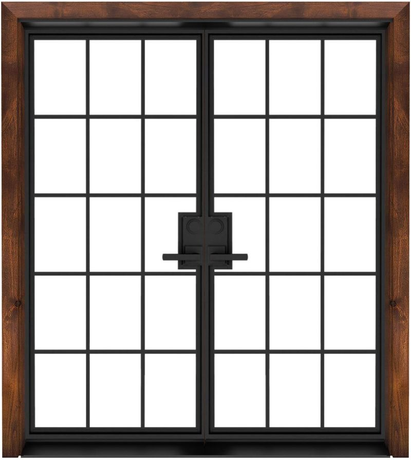 Mountain French Full Double Front Door