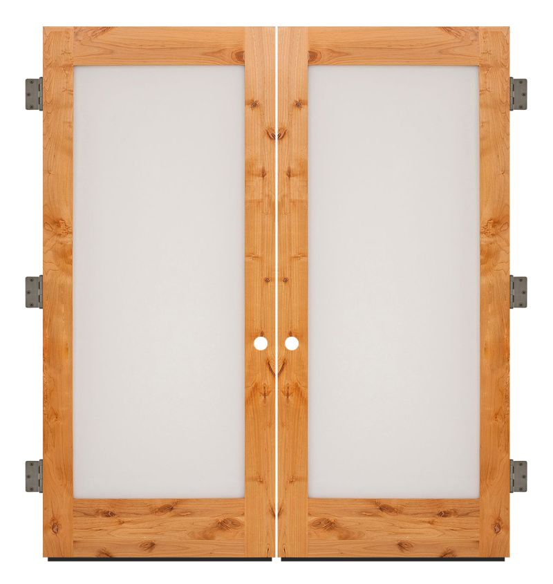 Pearce Exterior Double Slab Door