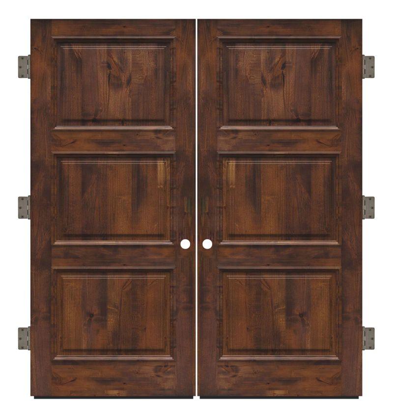 Ranch Hand Exterior Double Slab Door