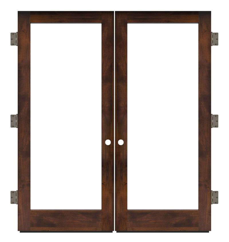 Watchman Exterior Double Slab Door