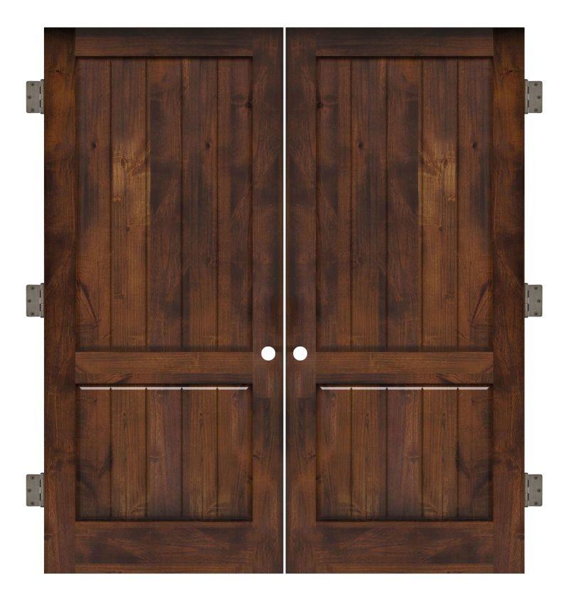 Altitude Interior Double Slab Door