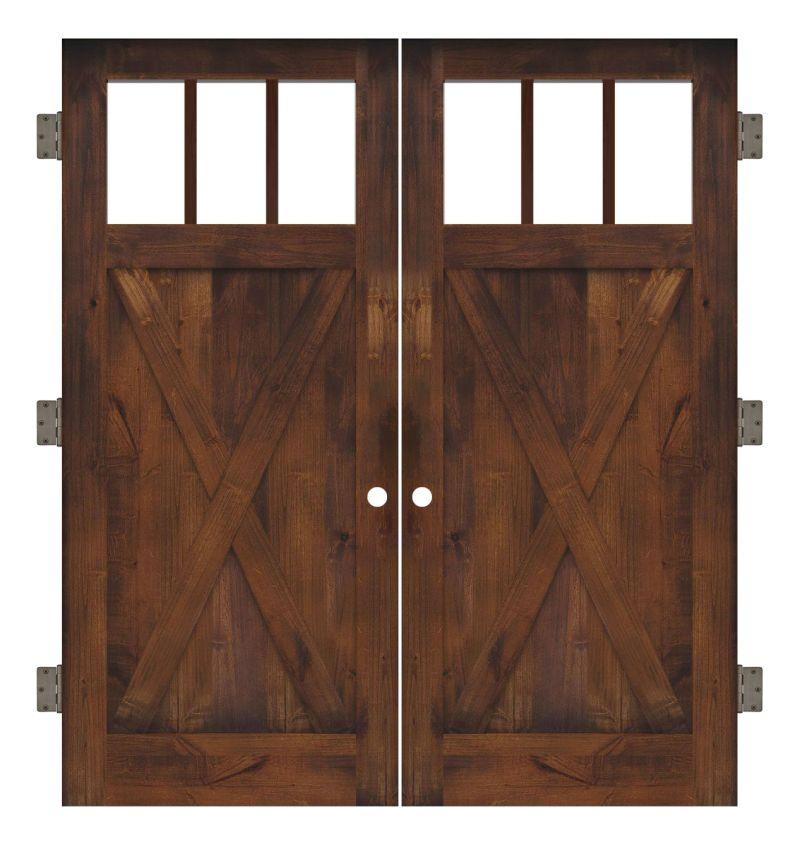 Bartholomew Interior Double Slab Door