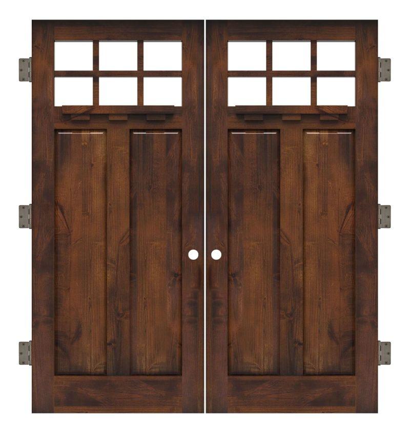 Apprentice Interior Double Slab Door