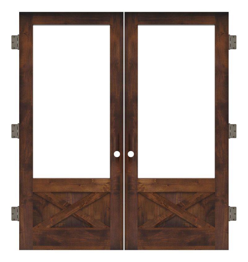 Hudson Interior Double Slab Door