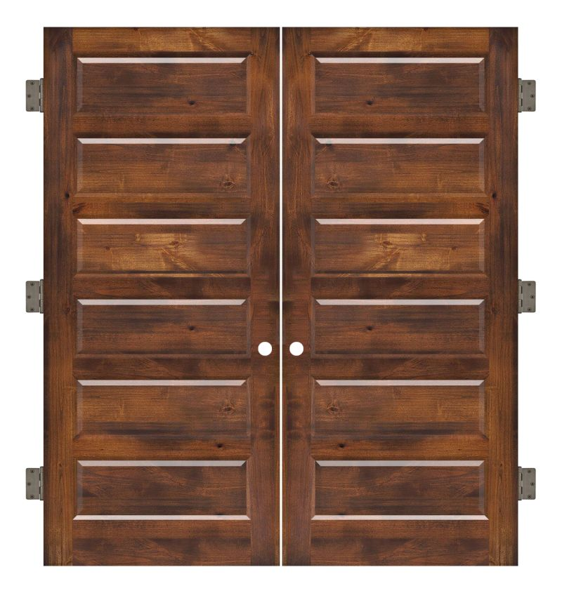 Pioneer Interior Double Slab Door