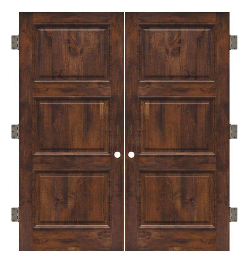 Ranch Hand Interior Double Slab Door
