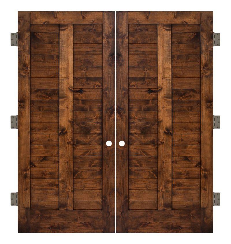 Heartland Interior Double Slab Door