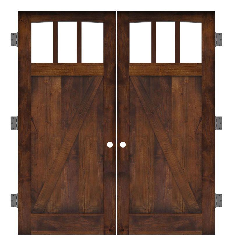 Rendezvous Interior Double Slab Door