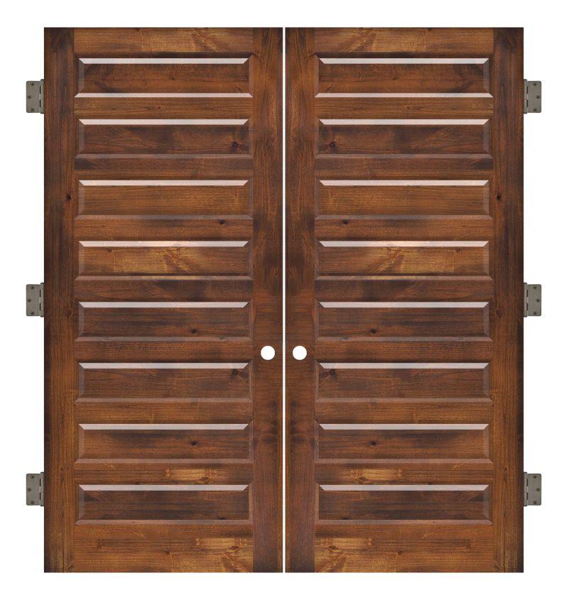 Regal Interior Double Slab Door