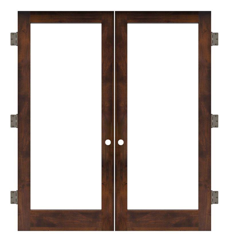 Watchman Interior Double Slab Door