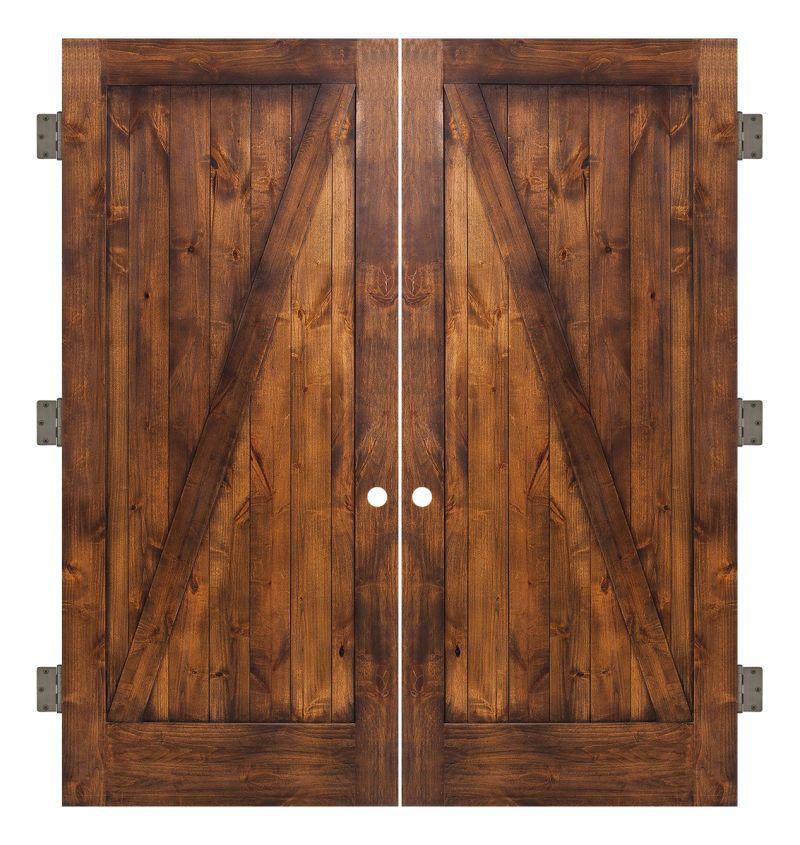 Z Interior Double Slab Door