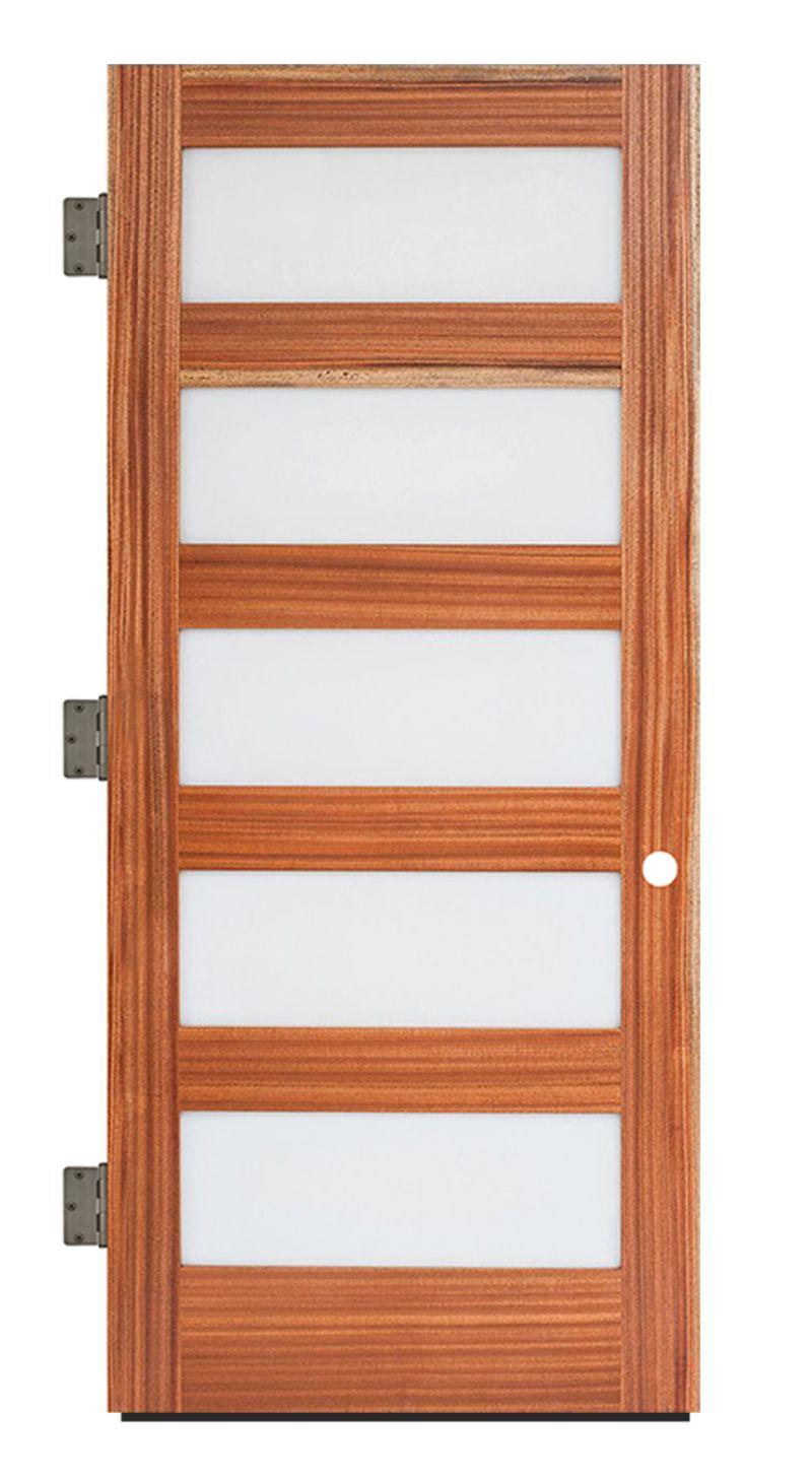 5 Panel Exterior Slab Door