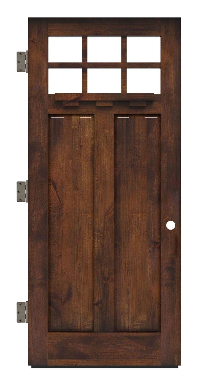 Apprentice Exterior Slab Door