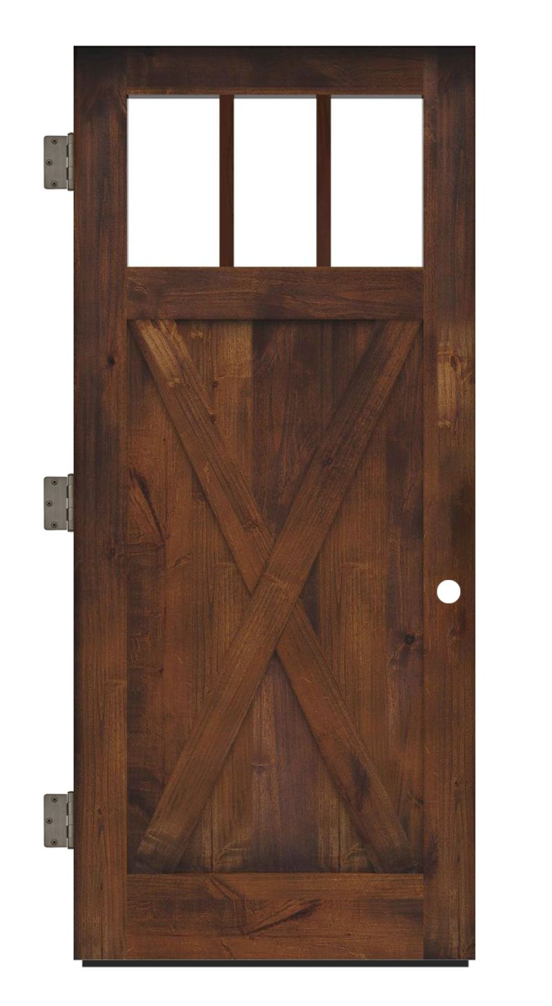 Bartholomew Exterior Slab Door