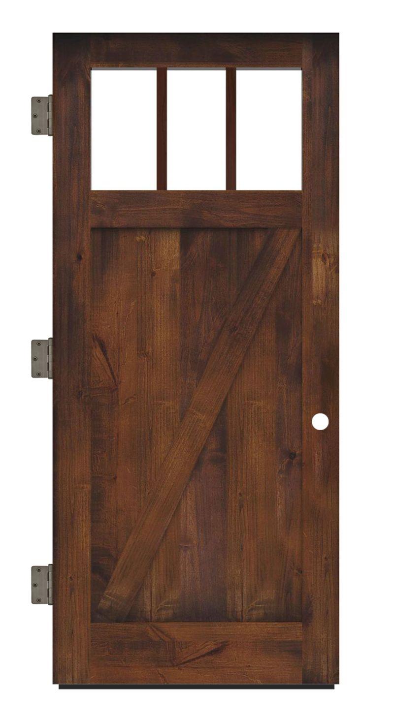 Clover Pass Exterior Slab Door