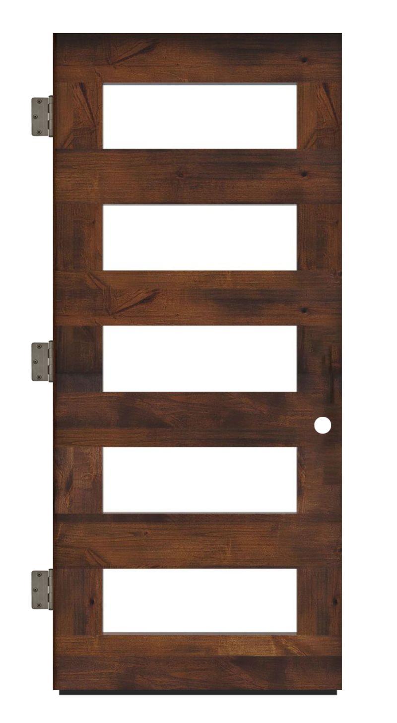 East Bench Exterior Slab Door