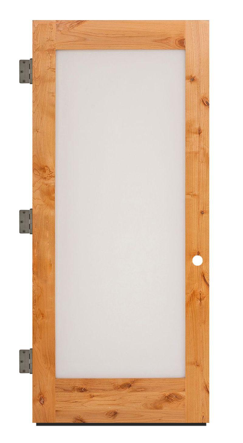 Pearce Exterior Slab Door
