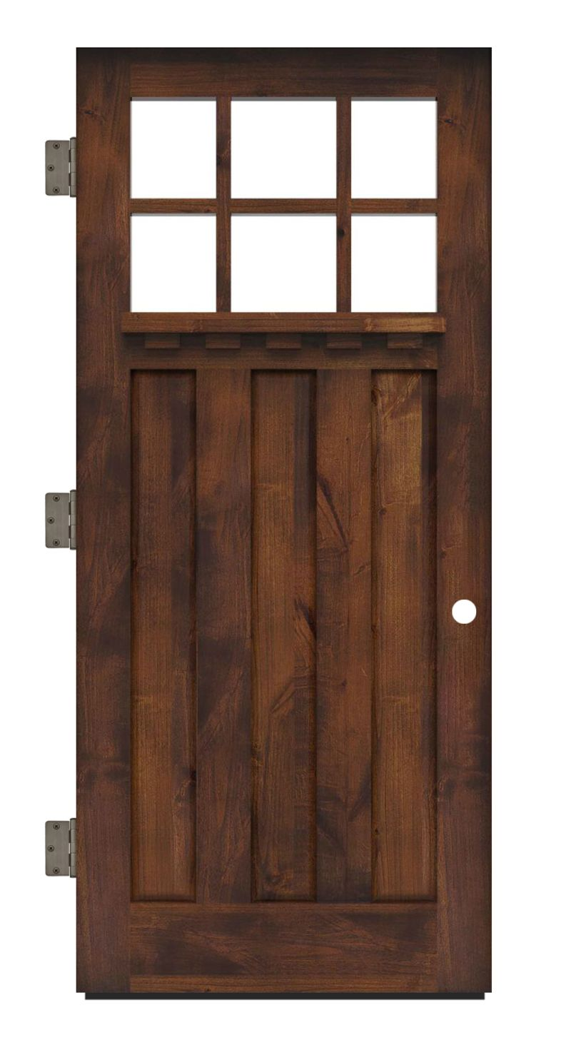 Rocky Point Exterior Slab Door