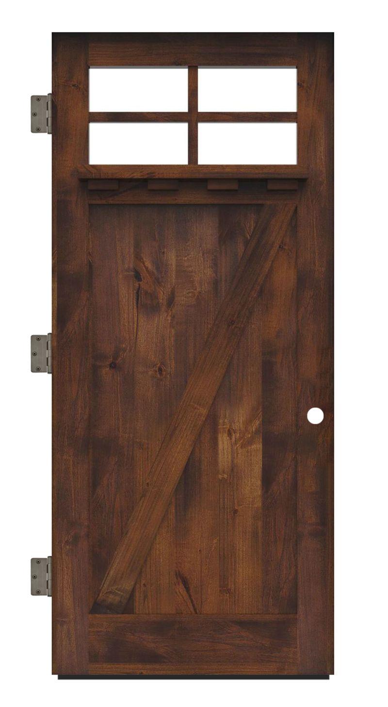 Skyline Exterior Slab Door