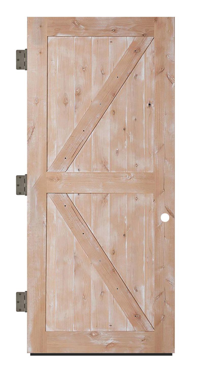 Stable Exterior Slab Door