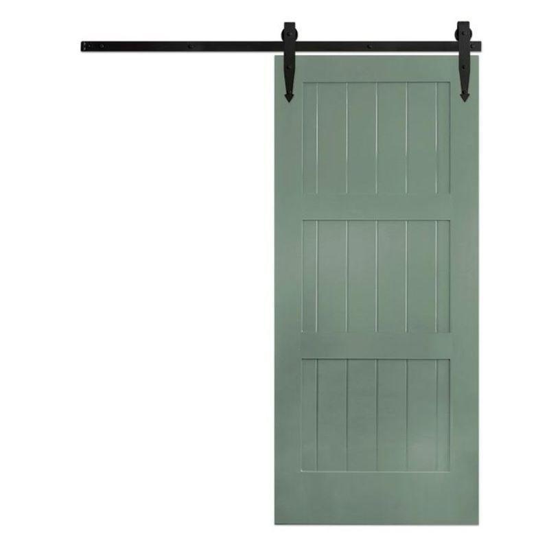 Classic 3 Panel Barn Door