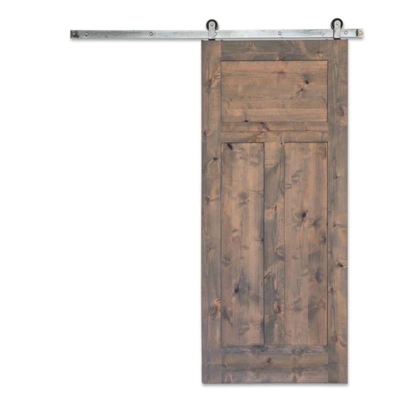 Craftsman 3-Panel Barn Door