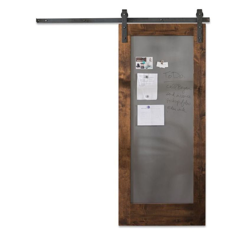 Metal Panel Barn Door