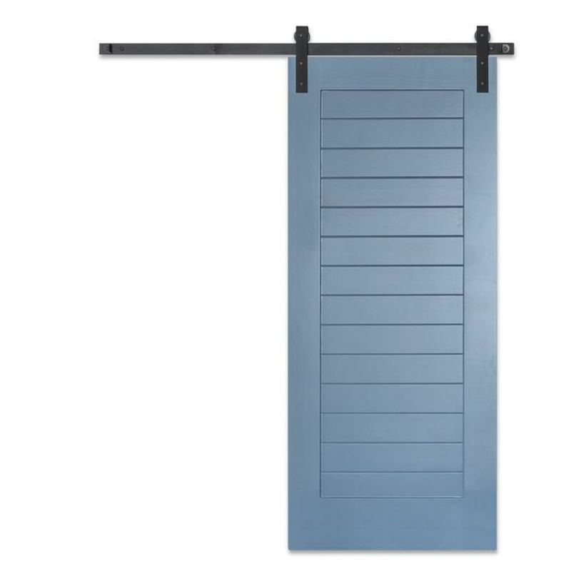 Craftsman Horizontal Barn Door