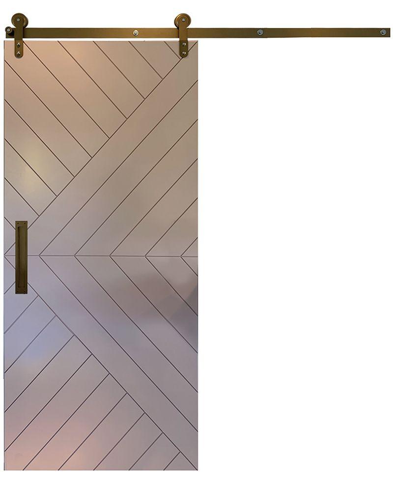 Sunrise Barn Door