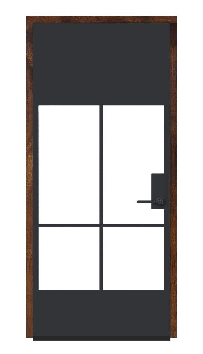 Crest Wine Room Door