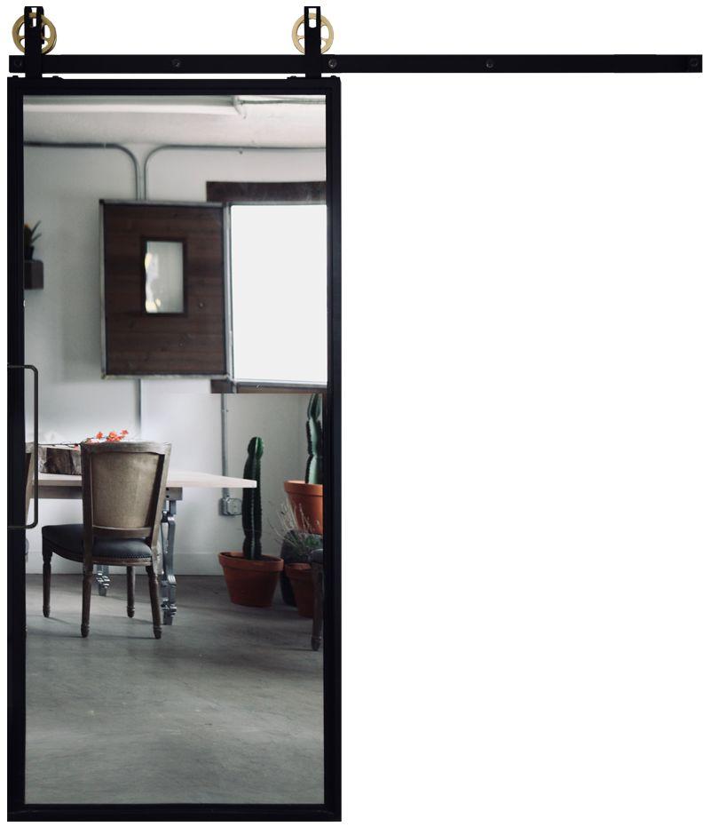 Ponder Mirror Barn Door