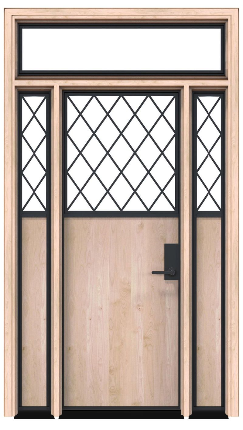 Feed Lot With Sidelights And Transom