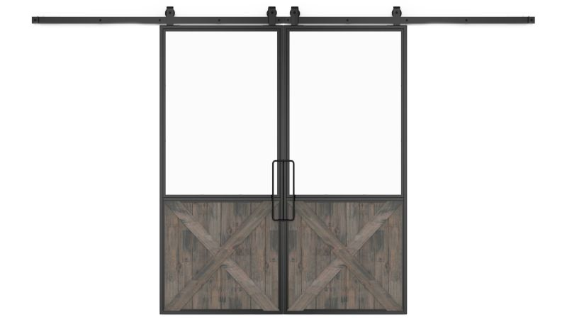Vision Double Barn Door