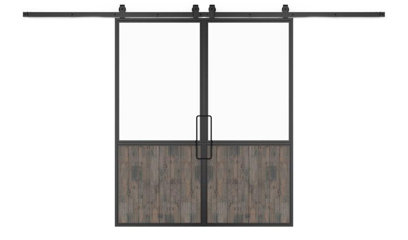 Chalet Double Barn Door