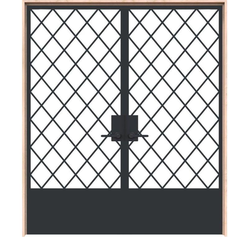 Alley Vineyard Interior Double Door