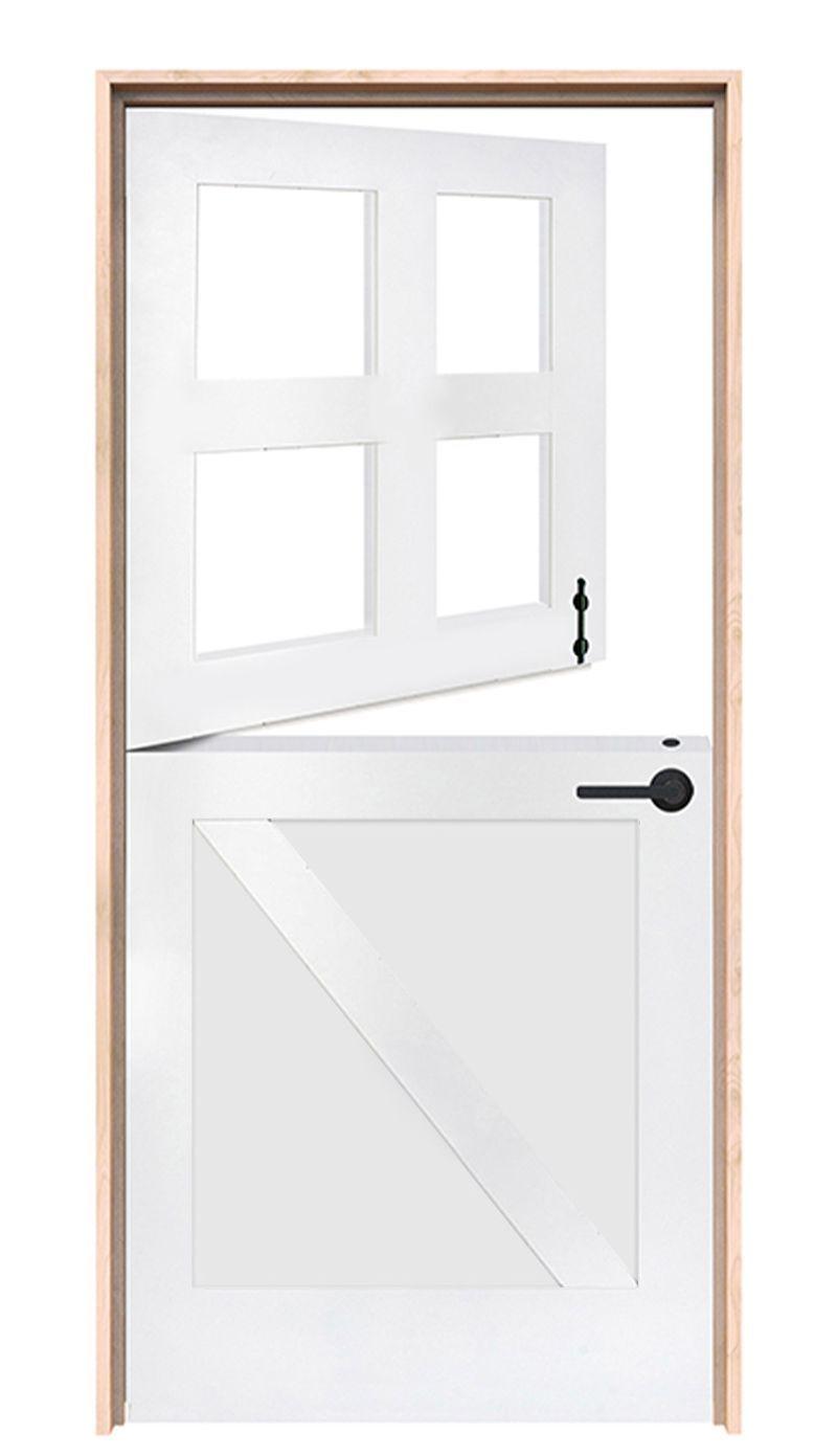 Country Z Exterior Dutch Door