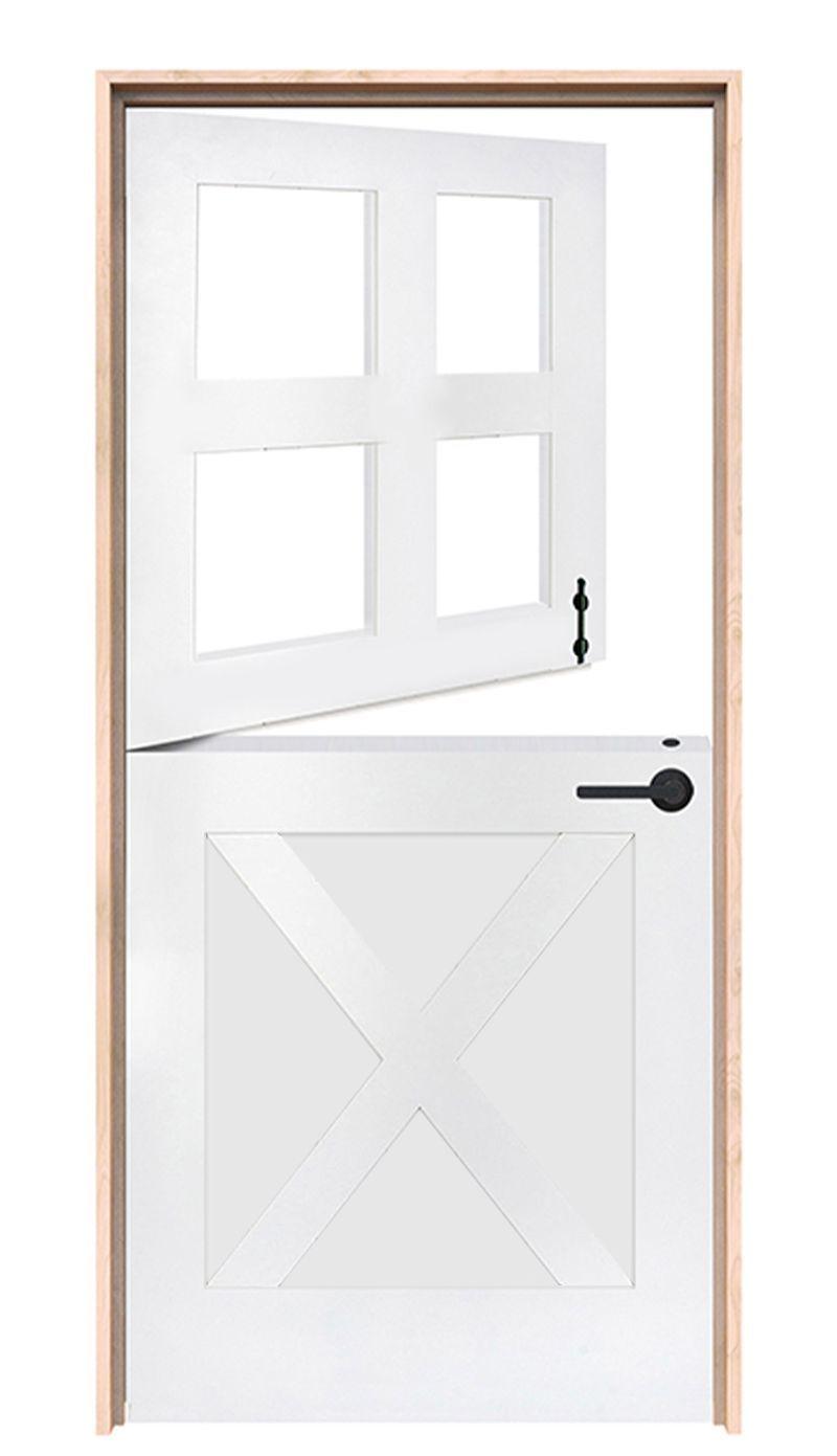 Country X Exterior Dutch Door