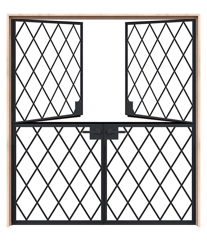 Exterior Vine Double Dutch Door