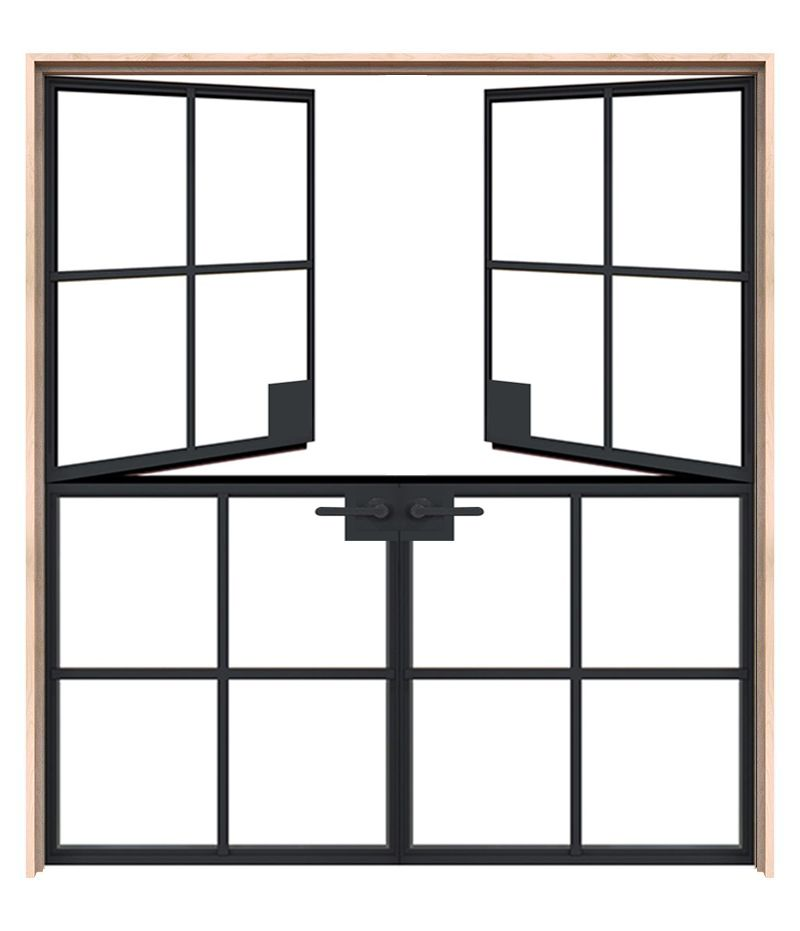 Exterior Grove Double Dutch Doors
