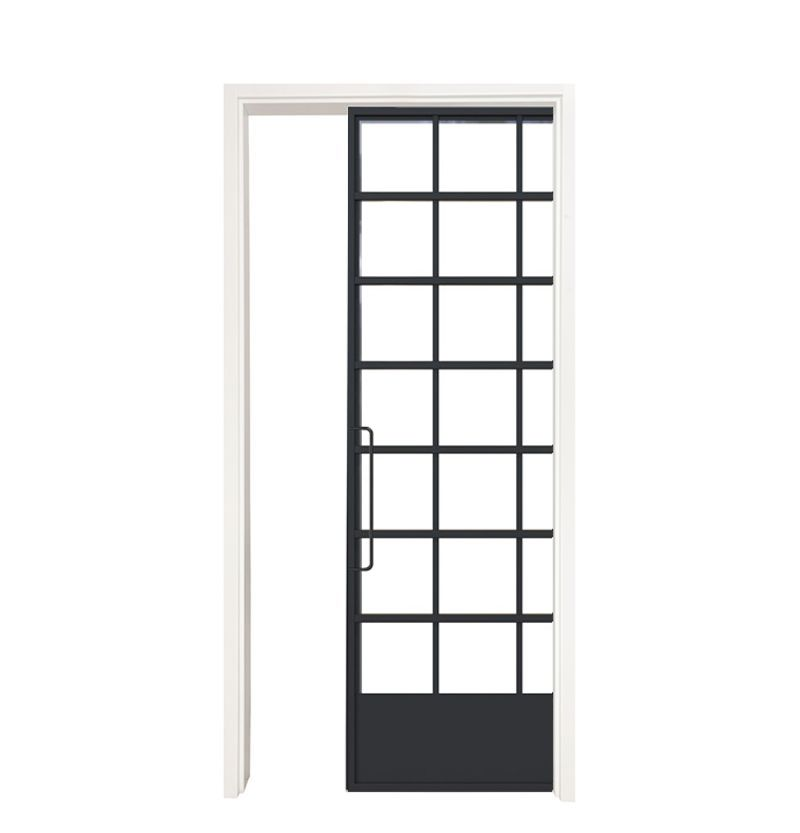 Grand Hall Single Pocket Door