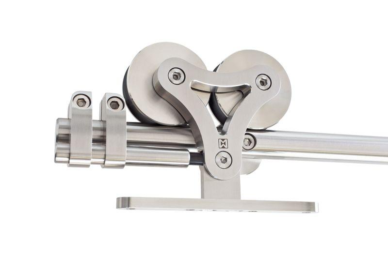 Duplex-S Sliding Door Hardware Kit