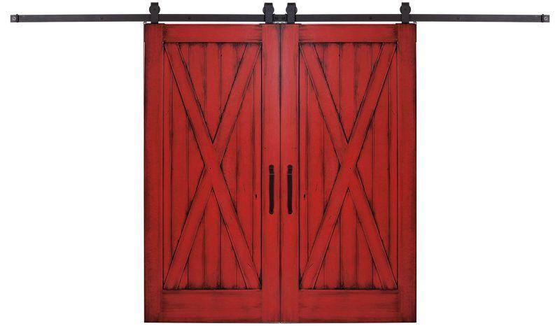 Full X Double Barn Door
